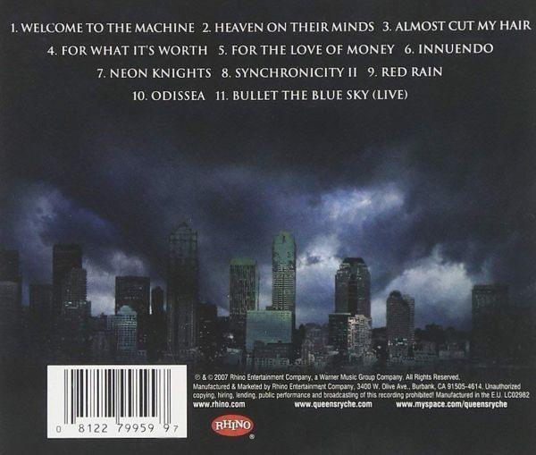 Queensryche - Take Cover - CD - New