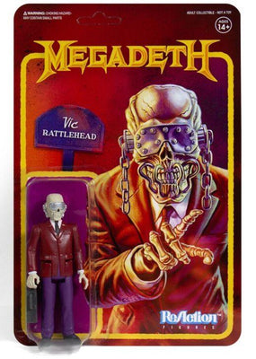 Megadeth - Vic Rattlehead (PEACE SELLS) 3.75 inch Super7 ReAction Figure