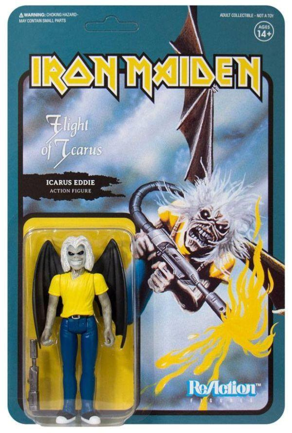 Iron Maiden - Icarus Eddie (FLIGHT OF ICARUS) 3.75 inch Super7 ReAction Figure