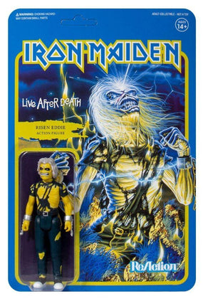 Iron Maiden - Risen Eddie (LIVE AFTER DEATH) 3.75 inch Super7 ReAction Figure