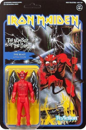 Iron Maiden - The Beast (NUMBER OF THE BEAST) 3.75 inch Super7 ReAction Figure