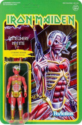 Iron Maiden - Cyborg Eddie (SOMEWHERE IN TIME) 3.75 inch Super7 ReAction Figure