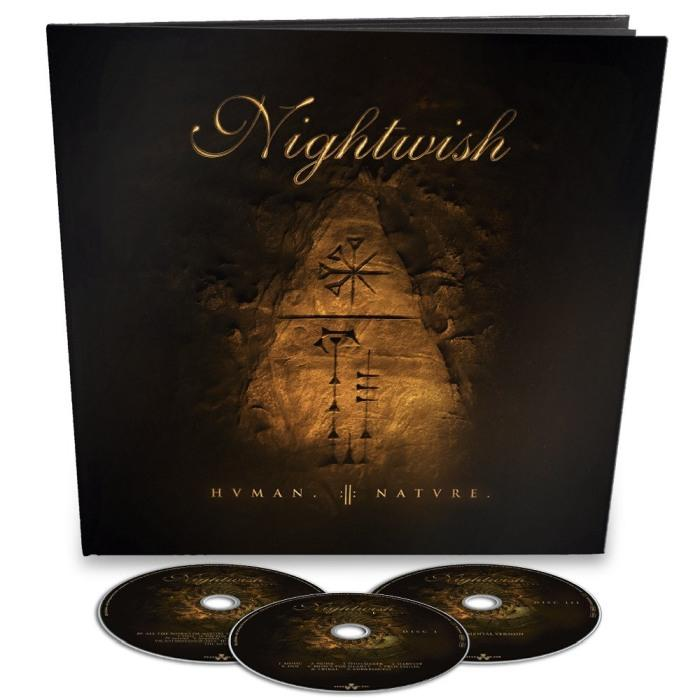 Nightwish - Human II - Nature (Ltd. Ed. 3CD Earbook) - CD - New