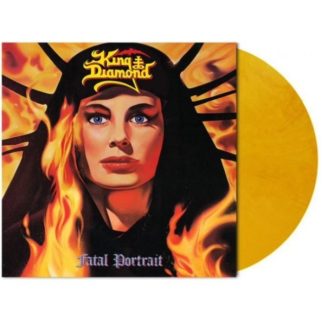 King Diamond - Fatal Portrait (2020 Reissue Yellow Marble vinyl Ltd. Ed.) - Vinyl - New