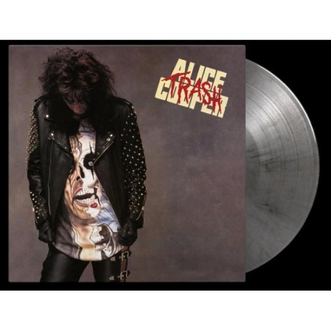 Cooper, Alice - Trash (30th anniversary release, Ltd. Ed. 180g Silver and black marbled Vinyl - numbered ed. of 2500) - Vinyl - New