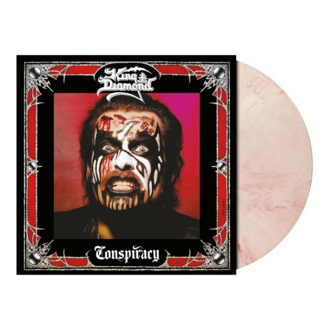 King Diamond - Conspiracy (White Red Marbled Vinyl 2020 reissue) - Vinyl - New