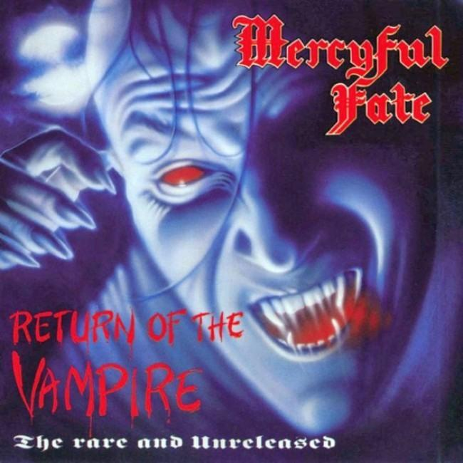 Mercyful Fate - Return Of The Vampire - The Rare And Unreleased (Ltd. Ed. 2020 Sheer Violet/Blue Marbled Vinyl Reissue w. download) - Vinyl - New