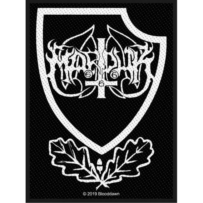 Marduk - Panzer Crest Woven Sew-On Patch