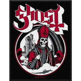 Ghost - Secular Haze Woven Sew-On Patch