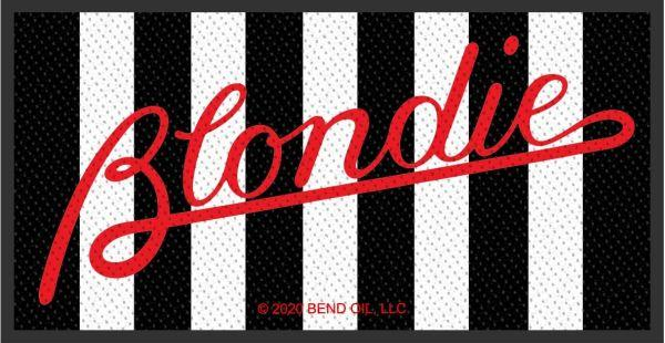 Blondie - Parallel Lines Woven Sew-On Patch