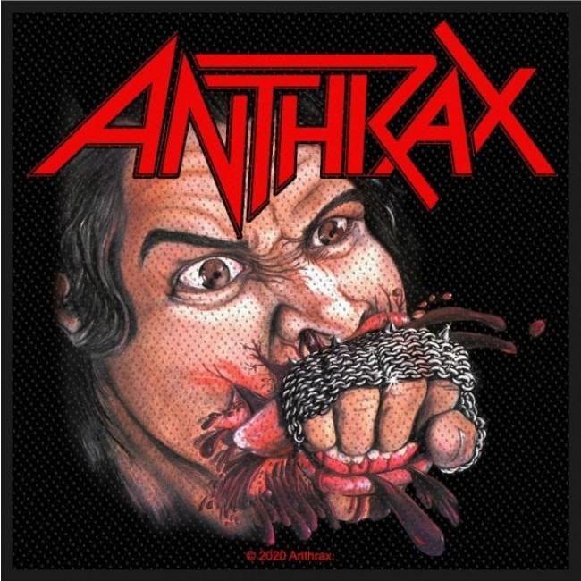 Anthrax - Fistfull Of Metal Woven Sew-On Patch