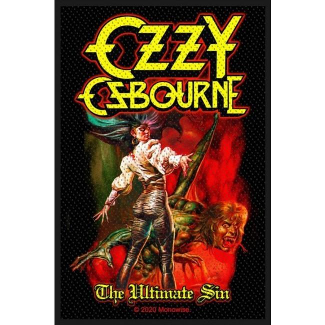 Osbourne, Ozzy - Ultimate Sin Woven Sew-On Patch
