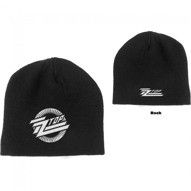 ZZ Top - Knit Beanie - Embroidered - Circle Logo