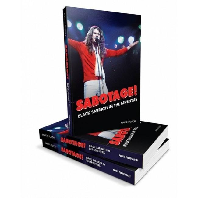 Black Sabbath - Popoff, Martin - Sabotage! Black Sabbath In The Seventies - Book - New