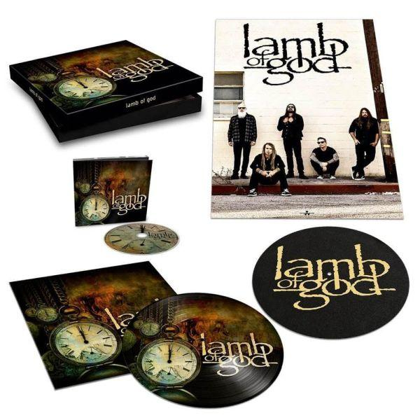 Lamb Of God - Lamb of God (Deluxe Picture Disc LP, Slipmat, Poster Box set + digipak CD Ltd. Ed.) - Vinyl - New