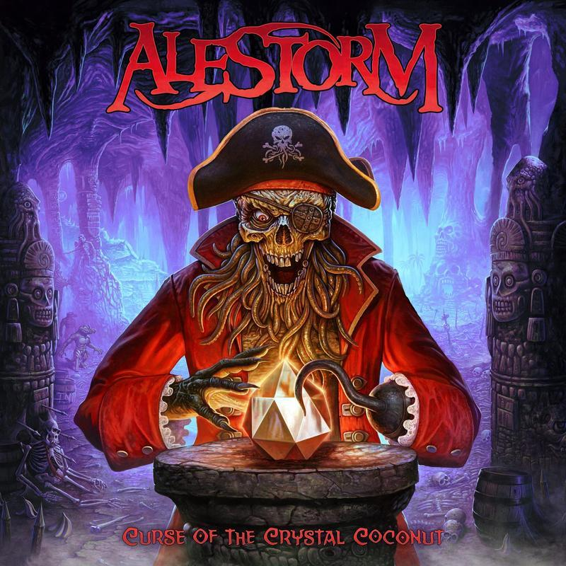 Alestorm - Curse Of The Crystal Coconut - CD - New