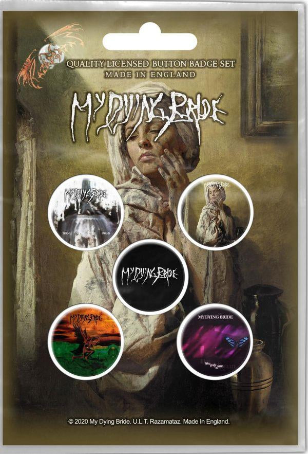 My Dying Bride - 5 x 2.5cm Button Set - Ghost Of Orion