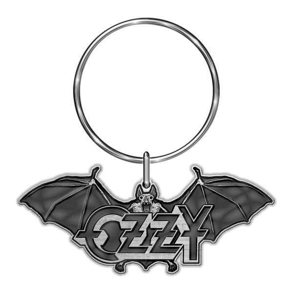 Osbourne, Ozzy - Keyring (Bat and Logo)