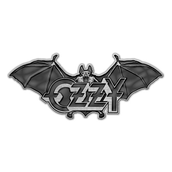 Osbourne, Ozzy - Pin Badge - Bat and Logo