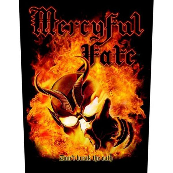 Mercyful Fate - Dont Break The Oath Sew-On Back Patch