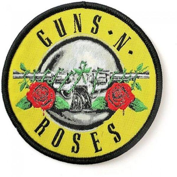Guns N Roses - Bullet Logo Round Sew-On Patch