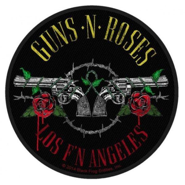 Guns N Roses - Los FN Angeles Round Sew-On Patch