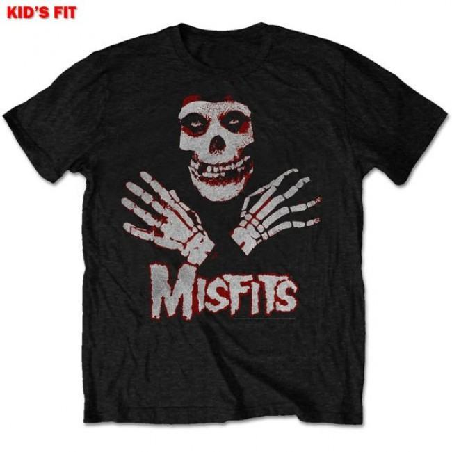 Misfits - Skeleton Hands Toddler and Youth Black Shirt