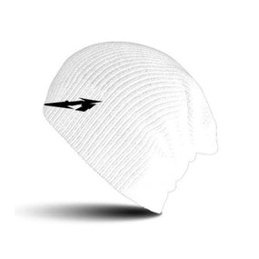 Metallica - Knit Beanie - Embroidered - Glitch M Circle (White)