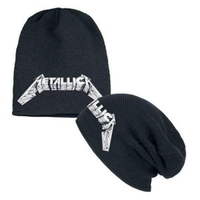 Metallica - Knit Beanie - Embroidered - MOP Logo (Black)