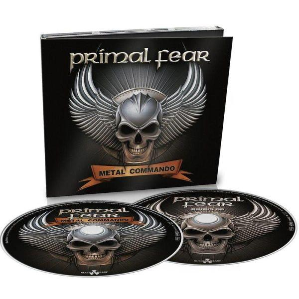 Primal Fear - Metal Commando (Deluxe Ed. 2CD) - CD - New