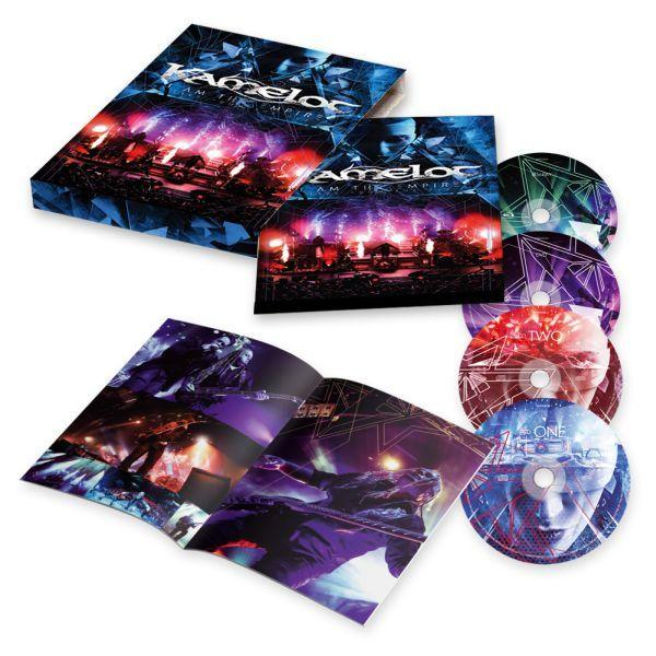 Kamelot - I Am The Empire - Live From The 013 (Blu-Ray/DVD/2CD) (RA/B/C/R0) - Blu-Ray - Music