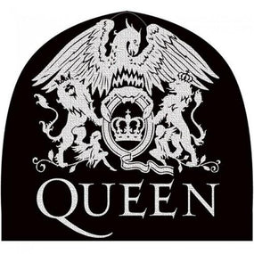 Queen - Knit Beanie - Printed - Queen Crest