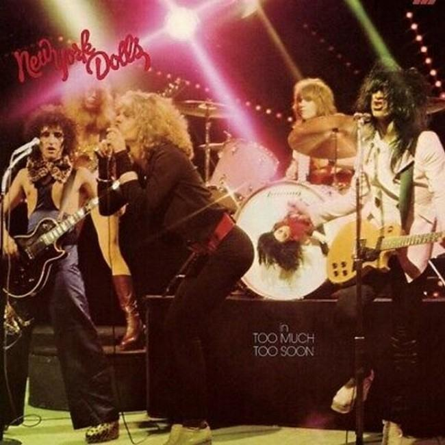 New York Dolls - In Too Much Too Soon (180g 2017 reissue w. download voucher) - Vinyl - New