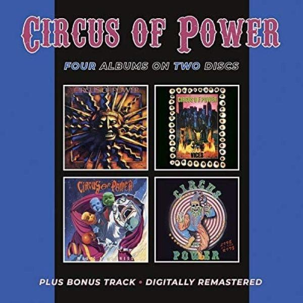 Circus Of Power - Circus Of Power/Vices/Live At The Ritz EP/Magic And Madness) (2020 2CD rem. w. bonus track) - CD - New