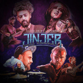 Jinjer - Alive In Melbourne - CD - New - PRE-ORDER