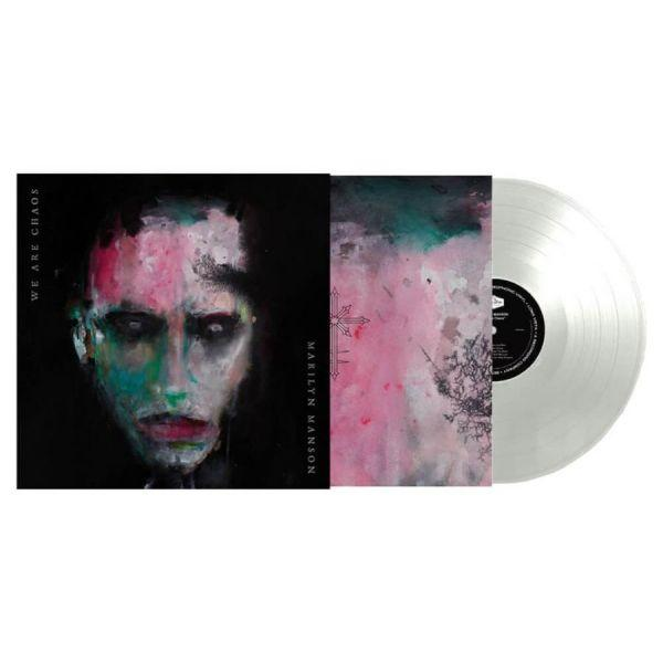 Manson, Marilyn - We Are Chaos (Exclusive White Vinyl gatefold w. poster) - Vinyl - New