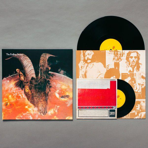Rolling Stones - Goats Head Soup (2020 Remaster, Alternate sleeve, with 7 inch reissue) - Vinyl - New
