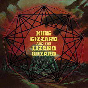 King Gizzard And The Lizard Wizard - Nonagon Infinity (Neon Red/Neon Yellow/Black mixed multi-coloured vinyl w. download - gatefold) - Vinyl - New