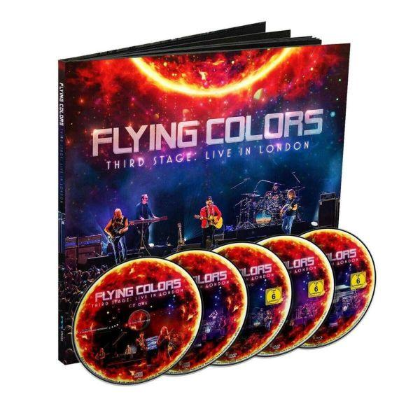 Flying Colors - Third Stage - Live In London (Ltd. Ed. 2CD/2DVD/Blu-Ray Earbook) - CD - New
