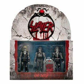 Slayer - Live Undead (Slayer 3 Pack) 3.75 Inch Super7 ReAction Figure