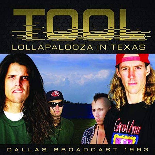 Tool - Lollapalooza In Texas - Dallas Broadcast 1993 - CD - New