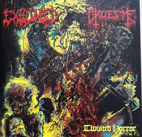 Exhumed/Gruesome - Twisted Horror (split) - CD - New