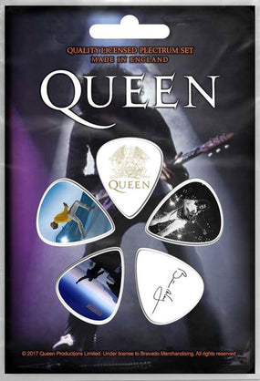 Queen - 5 x Guitar Picks Plectrum Pack (Brian May)