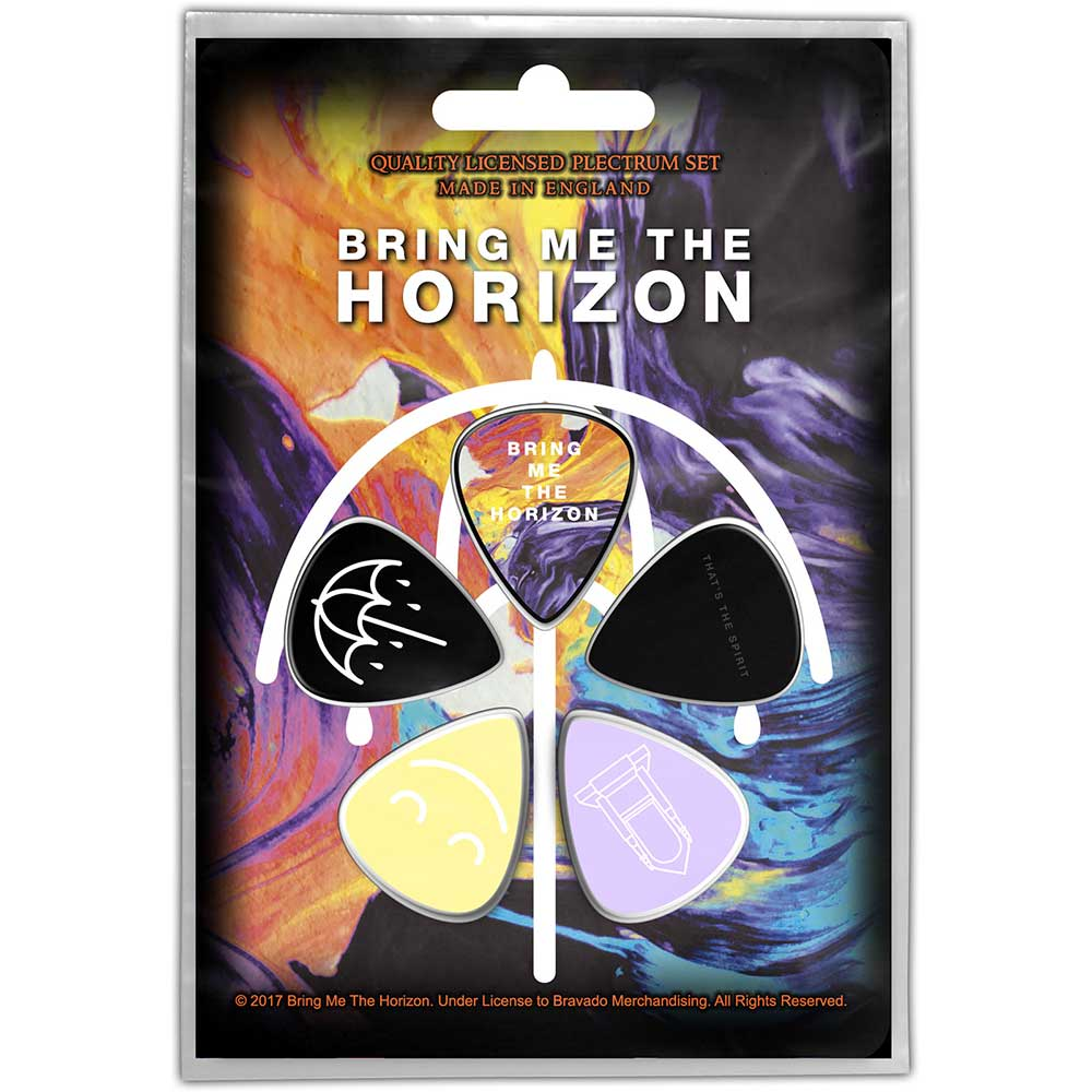 Bring Me The Horizon - 5 x Guitar Picks Plectrum Pack (Thats The Spirit)