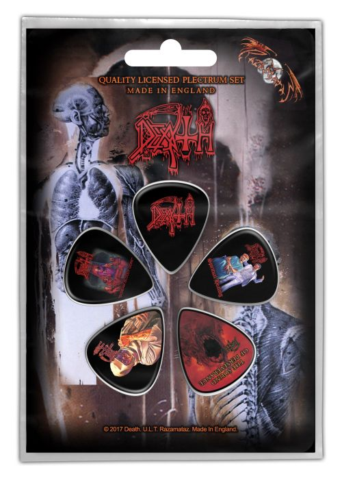 Death - 5 x Guitar Picks Plectrum Pack (Albums)