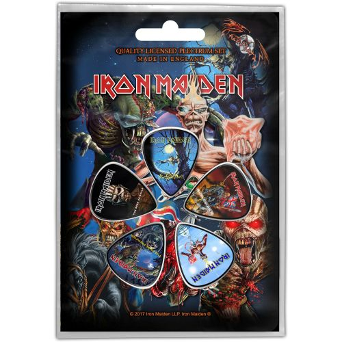 Iron Maiden - 5 x Guitar Picks Plectrum Pack (Later Albums)