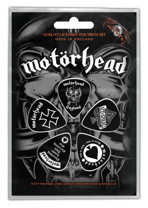 Motorhead - 5 x Guitar Picks Plectrum Pack (England)