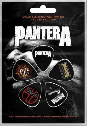 Pantera - 5 x Guitar Picks Plectrum Pack (Vulgar Display Of Power)