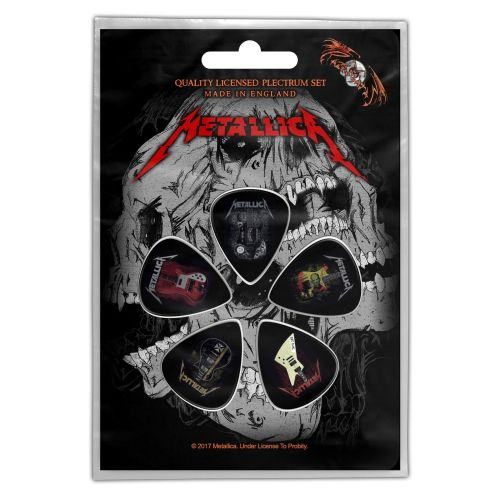 Metallica - 5 x Guitar Picks Plectrum Pack (Guitars)