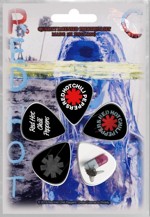 Red Hot Chili Peppers - 5 x Guitar Picks Plectrum Pack (By The Way)